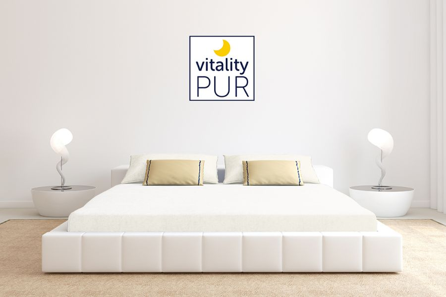 Vitality Pur jersey hoeslaken 180 x 200 Offwhite
