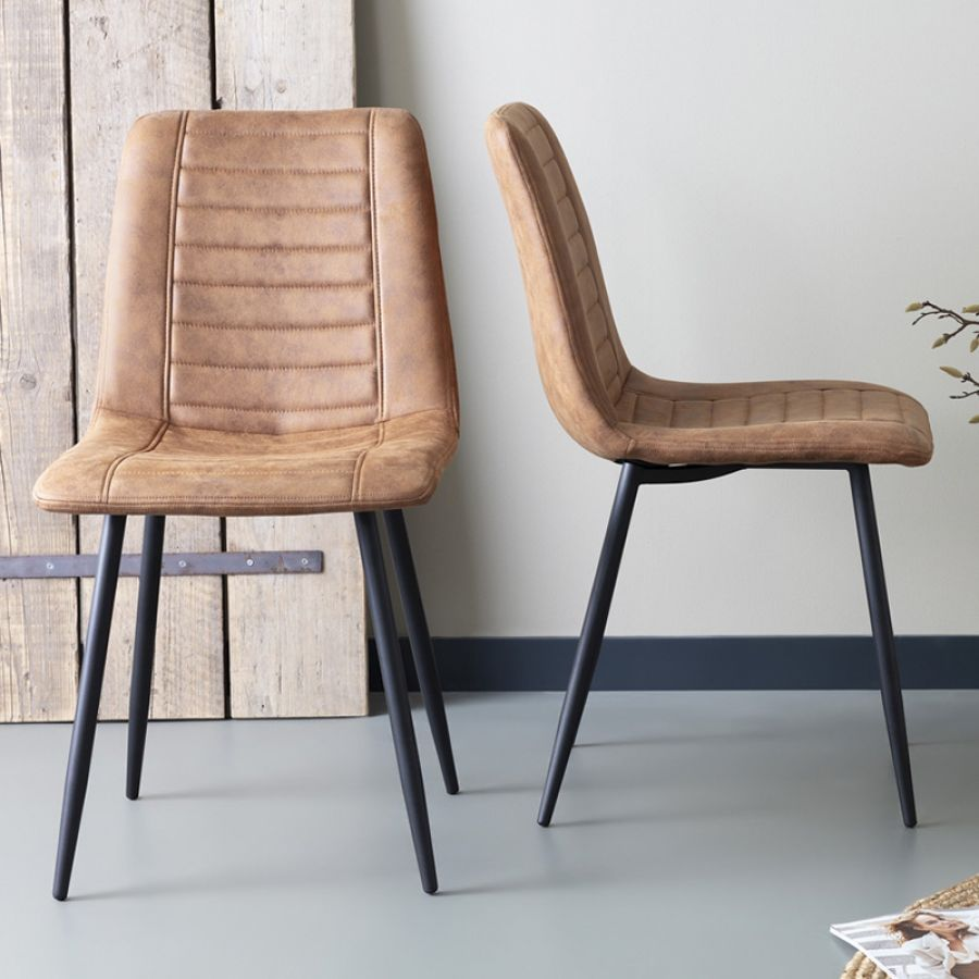 Eetkamerstoelen Morgan set van 2
