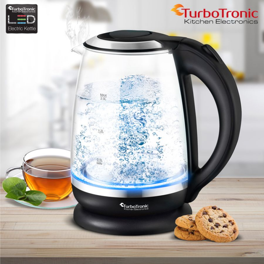 TurboTronic LED waterkoker 2200W