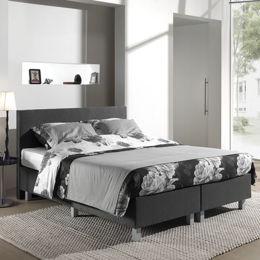 Boxspring Ultra Comfort Antraciet