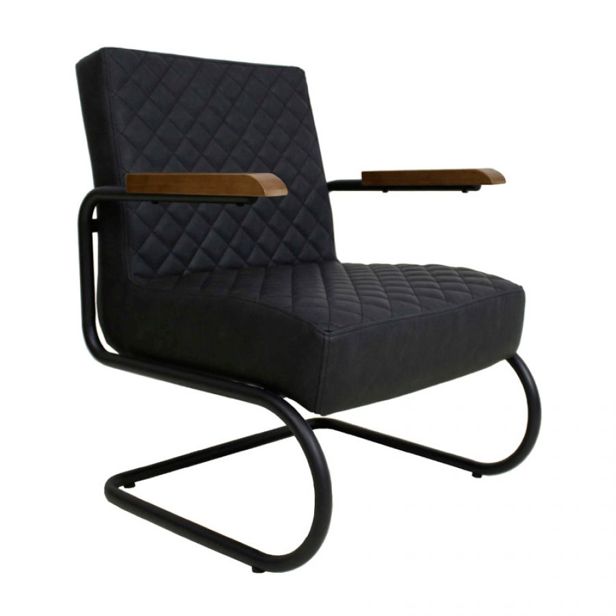 Fauteuil Faye Antraciet